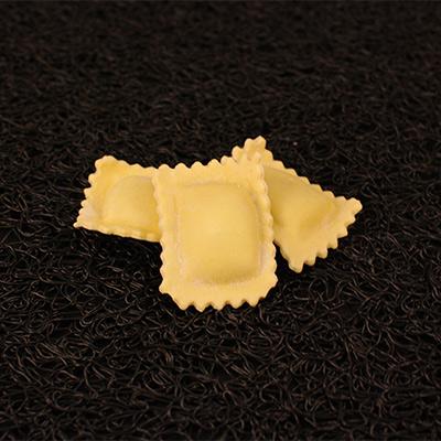 Raviole courgette/citron